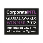 2018 Global Awards   Immigration Law Firm Of The Year In Cyprus